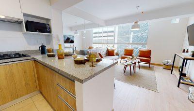 HPC Inmobiliaria | Proyecto ON Apartments | 2Dorm 3D Model